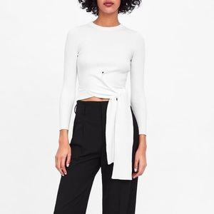 Zara Sweater w/ Tie Waist
